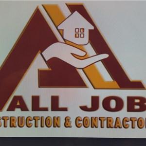 All Job Construction Logo