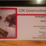 Cdk Construction, LLC Cover Photo