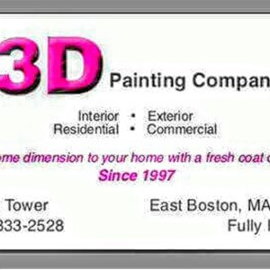3D Painting Company & Power Washing Services Logo