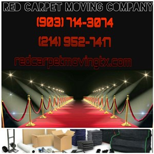 Red Carpet Moving Logo