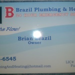 B. Brazil Plumbing & Heating Cover Photo