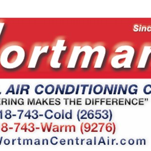 Bill Wortman Central Air Conditioning Co Logo