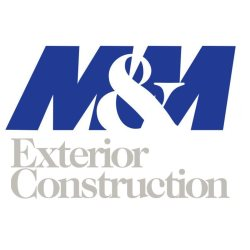 M&M Exterior Construction Logo