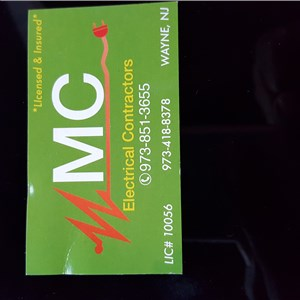 M Electrical Contractors Logo