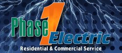 Phase 1 Electrical Services Logo