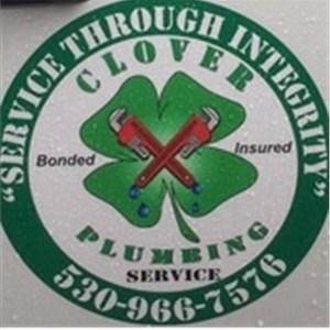 Clover Plumbing Service Logo