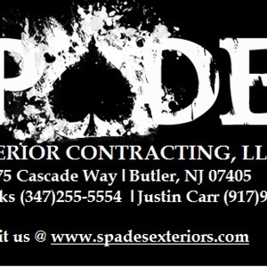 Spades Exterior Contracting, LLC Logo