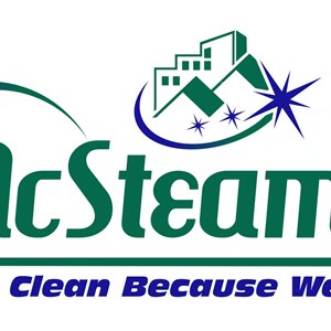 Mcsteamys Professional Carpet Cleaning Logo