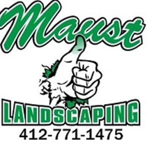 Maust Landscaping & Lawn Care Logo