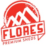 Flores Premium Sheds Logo