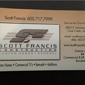 Scott Francis Construction Cover Photo