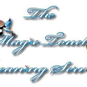 The Magic Touch Cleaning Services Logo