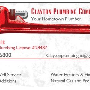 Clayton Plumbing Co Logo