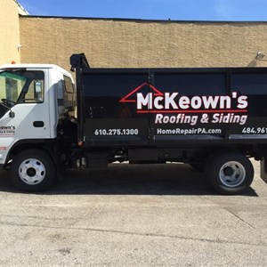 Mckeowns Roofing & Siding Logo
