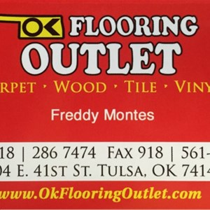 OK flooring OUTLET Logo