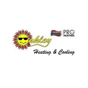 Oakley Heating And Cooling Logo