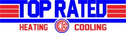 Top Rated Heating & Cooling Logo