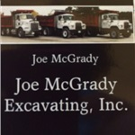 Joe Mcgrady Excavating Inc Logo