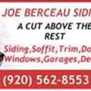 Joe Berceau Siding Cover Photo