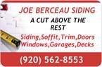 Joe Berceau Siding Logo