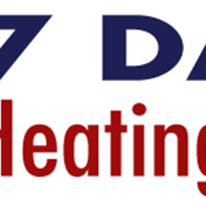 7 Days Heating And AC Logo