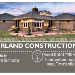 Timurland Construction, LLC Cover Photo