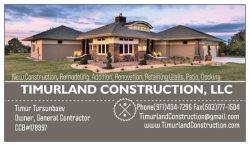 Timurland Construction, LLC Logo