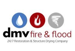 DMV Fire and Flood Logo