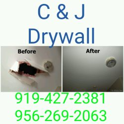 C & J Drywall And More Logo