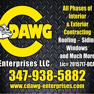 White Interior Door Contractors Logo