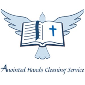 Anointed Hands Cleaning Service Logo