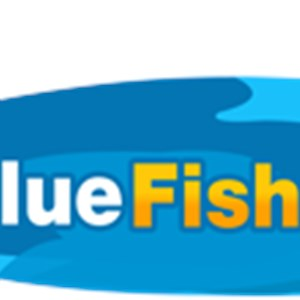 Blue Fish Pool Service Logo