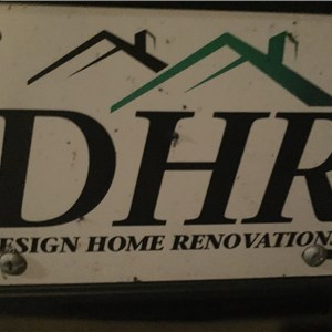 Design Home Renovations (dhr) Logo