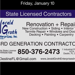 Jerald Groth Enterprises,inc. Logo