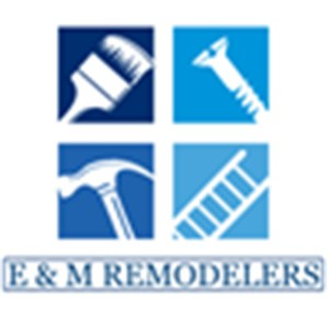 E & M Remodelers Logo