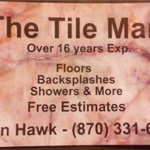 The Tile Man Logo