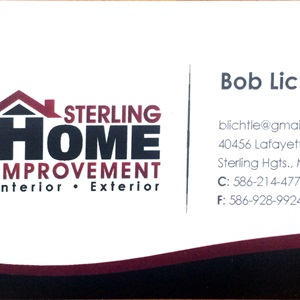 Sterling Home Improvement Cover Photo