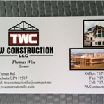 T W Construction LLC Cover Photo