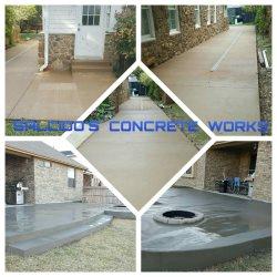 Salcidos Concrete Works Logo