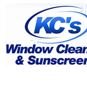 Kcs Window Cleaning & Sunscreens Logo