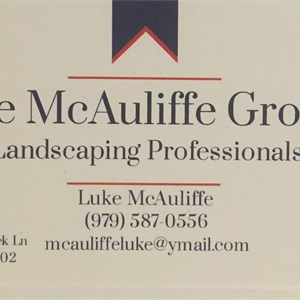 The McAuliffe Group: Landscaping Professionals Logo