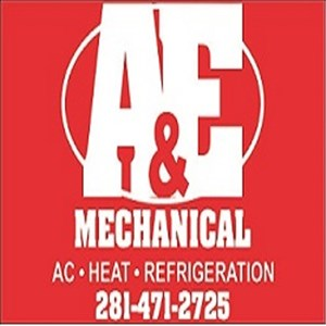 A & E Mechanical Logo