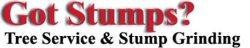 Got Stumps? Tree Service Logo