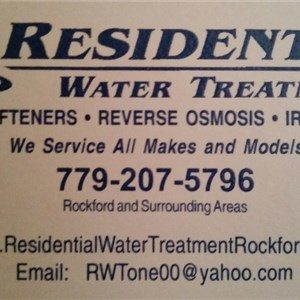 Residential Water Treatment Logo