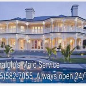Hanalulus Maid Service Logo