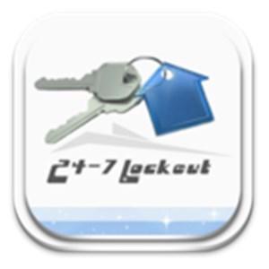24-7 LOCKOUT Logo
