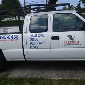 Freedom Garage Door Services Logo