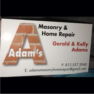 Adams Masonry And Home Repair Logo