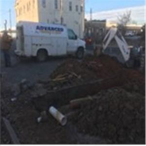 Advanced Plumbing & Septic Service Logo