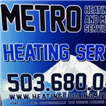 Metro Heating Cooling and Mechanical Services Logo